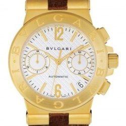 Ремонт часов Bvlgari DG35C6GLDCH Diagono Chronograph 35 mm в мастерской на Неглинной