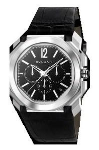 Ремонт часов Bvlgari Octo Chronograph Steel Black Strap Gefica Gerald Genta в мастерской на Неглинной
