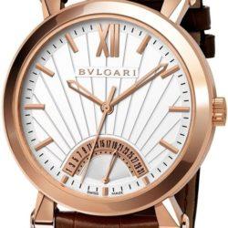 Ремонт часов Bvlgari SBP42WGLDR Sotirio Retrograde Date в мастерской на Неглинной