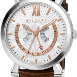 Ремонт часов Bvlgari SBW42WGLAC Sotirio Annual Calendar в мастерской на Неглинной