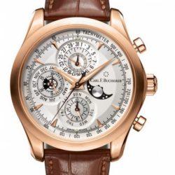 Ремонт часов Carl F. Bucherer 00.10906.03.13.01 Manero ChronoPerpetual в мастерской на Неглинной