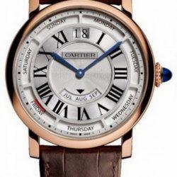 Ремонт часов Cartier Annual Calendar rg Rotonde De Cartier Gold в мастерской на Неглинной