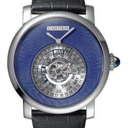 Ремонт часов Cartier Astrocalendaire Rotonde De Cartier Platinum в мастерской на Неглинной