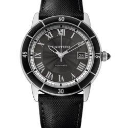 Ремонт часов Cartier Cartier Ronde Croisiere Black Ronde Solo De Cartier 42 mm в мастерской на Неглинной