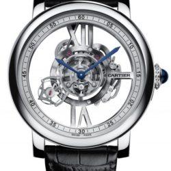 Ремонт часов Cartier Cartier Rotonde Astrotourbillon Skeleton Rotonde De Cartier Watch в мастерской на Неглинной