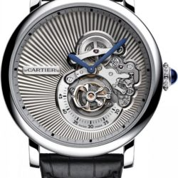 Ремонт часов Cartier Cartier Rotonde Reversed Tourbillon Rotonde De Cartier 46.2 mm в мастерской на Неглинной