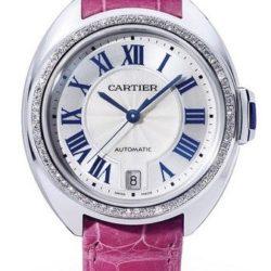 Ремонт часов Cartier Cle De Cartier 35 mm Tortue White gold в мастерской на Неглинной
