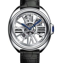 Ремонт часов Cartier Cle De Cartier Automatic Skeleton Calibre de Cartier 41 mm в мастерской на Неглинной