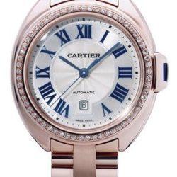 Ремонт часов Cartier Cle De Cartier Tortue 31 mm в мастерской на Неглинной