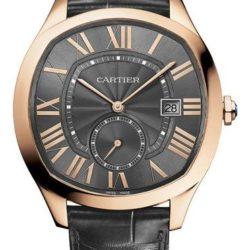 Ремонт часов Cartier Drive De Cartier Pink Gold Cushion Tortue Automatic в мастерской на Неглинной