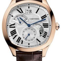 Ремонт часов Cartier Drive De Cartier Pink Gold Tortue Cushion в мастерской на Неглинной