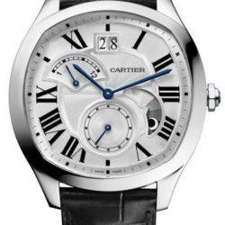 Ремонт часов Cartier Drive De Cartier Tortue White Gold в мастерской на Неглинной