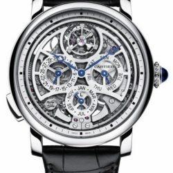 Ремонт часов Cartier Grande Complication Skeleton Rotonde De Cartier Platinum в мастерской на Неглинной