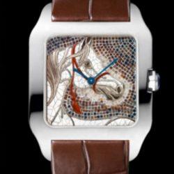 Ремонт часов Cartier HPI00526 Santos De Cartier Santos-Dumont Large в мастерской на Неглинной