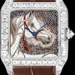 Ремонт часов Cartier HPI00584 Santos De Cartier Santos-Dumont Large в мастерской на Неглинной