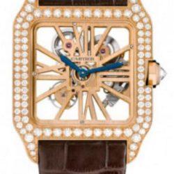 Ремонт часов Cartier HPI00587 Santos De Cartier Santos-Dumont Skeleton в мастерской на Неглинной