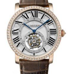 Ремонт часов Cartier HPI00593 Rotonde De Cartier Flying Tourbillon в мастерской на Неглинной