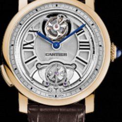 Ремонт часов Cartier HPI00603 Rotonde De Cartier Minute Repeater Flying Tourbillon в мастерской на Неглинной