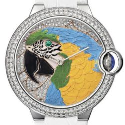 Ремонт часов Cartier HPI00769 Ballon Bleu de Cartier Floral-Marquetry Parrot в мастерской на Неглинной