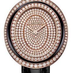 Ремонт часов Cartier Hypnose Large Model Pink Gold Baignoire Diamond set в мастерской на Неглинной