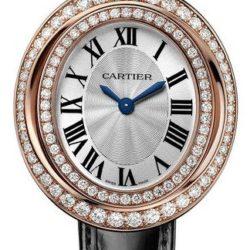 Ремонт часов Cartier Hypnose Large Model Pink Gold Diamond Set Baignoire Oval в мастерской на Неглинной
