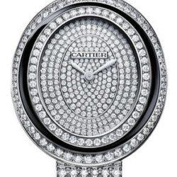 Ремонт часов Cartier Hypnose Large Model White Gold Baignoire Diamond Set в мастерской на Неглинной