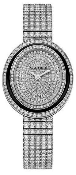 Ремонт часов Cartier Hypnose Small Model Diamond Set Baignoire White Gold в мастерской на Неглинной