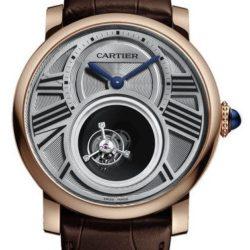 Ремонт часов Cartier Mysterious Double Tourbillon Rotonde De Cartier Pink Gold в мастерской на Неглинной