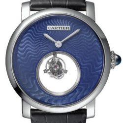 Ремонт часов Cartier Mysterious Double Tourbillon Rotonde De Cartier Tourbillon в мастерской на Неглинной