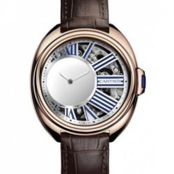 Ремонт часов Cartier Mysterious Hour Pink Gold Tortue Clé de Cartier в мастерской на Неглинной