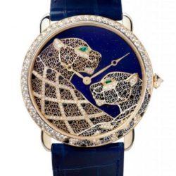Ремонт часов Cartier Ronde Pantheres Filigrane Ronde Louis Cartier Filigree 42 mm в мастерской на Неглинной
