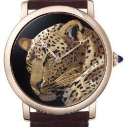 Ремонт часов Cartier Rotonde De Cartier 42 mm Rotonde De Cartier Pink Gold в мастерской на Неглинной