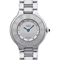 Ремонт часов Cartier W10110T2 21 Chronoscaph 21 Must de Cartier Large в мастерской на Неглинной