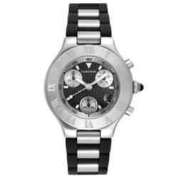 Ремонт часов Cartier W10125U2 21 Chronoscaph 21 Chronoscaph Large в мастерской на Неглинной