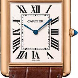 Ремонт часов Cartier W1560017 Tank Tank Louis Cartier Extra Flat в мастерской на Неглинной