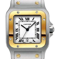 Ремонт часов Cartier W20011C4 Santos De Cartier Santos de Cartier Galbee Large Quartz в мастерской на Неглинной