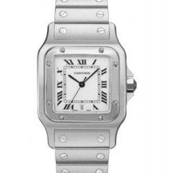 Ремонт часов Cartier W20060D6 Santos De Cartier Santos de Cartier Galbee Large Quartz в мастерской на Неглинной