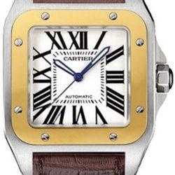 Ремонт часов Cartier W20072X7 Santos De Cartier Santos 100 Large в мастерской на Неглинной