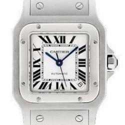 Ремонт часов Cartier W20098D6 Santos De Cartier Santos de Cartier Galbee Extra Large в мастерской на Неглинной