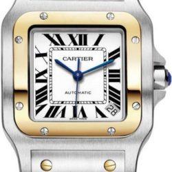 Ремонт часов Cartier W20099C4 Santos De Cartier Santos de Cartier Galbee Extra Large в мастерской на Неглинной
