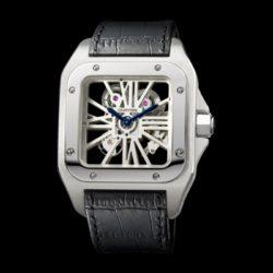 Ремонт часов Cartier W2020018 Santos De Cartier Santos 100 Skeleton в мастерской на Неглинной