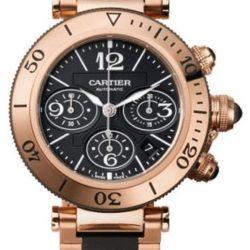 Ремонт часов Cartier W301980M Pasha De Cartier Pasha Seatimer Chronograph в мастерской на Неглинной