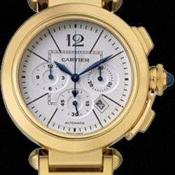 Ремонт часов Cartier W30201H9 Pasha De Cartier Pasha XL Chronograph в мастерской на Неглинной