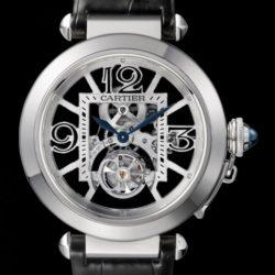 Ремонт часов Cartier W3030021 Pasha De Cartier Pasha Skeleton Flying Tourbillion в мастерской на Неглинной