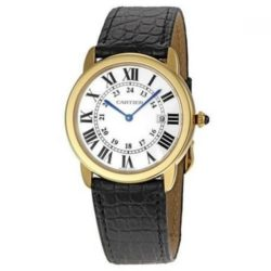 Ремонт часов Cartier W6700455 Ronde Solo De Cartier Ronde Solo de Cartier Large в мастерской на Неглинной