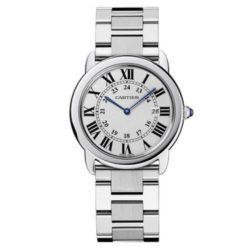 Ремонт часов Cartier W6701005 Ronde Solo De Cartier Ronde Solo de Cartier Large в мастерской на Неглинной