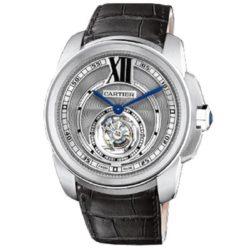 Ремонт часов Cartier W7100003 Calibre de Cartier Flying Tourbillon в мастерской на Неглинной