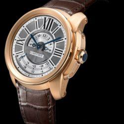 Ремонт часов Cartier W7100025 Calibre de Cartier Multiple Time Zone в мастерской на Неглинной