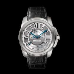Ремонт часов Cartier W7100026 Calibre de Cartier Multiple Time Zone в мастерской на Неглинной
