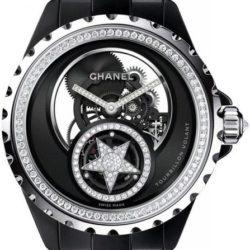 Ремонт часов Chanel Chanel J12 Skeleton Flying Tourbillon J12 Black Diamonds в мастерской на Неглинной